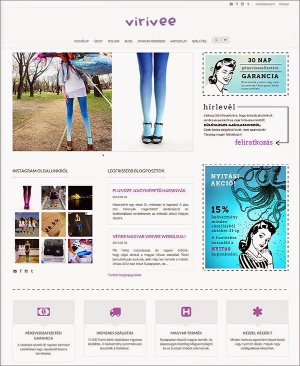Végre Virivee magyar weboldal